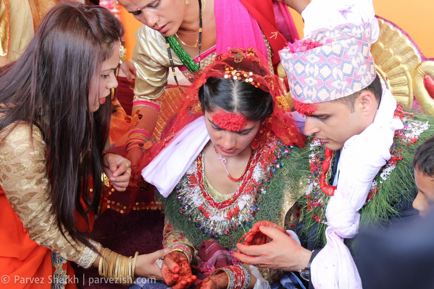The day when i attended a nepali wedding in pokhara for Wedding dress nepali culture