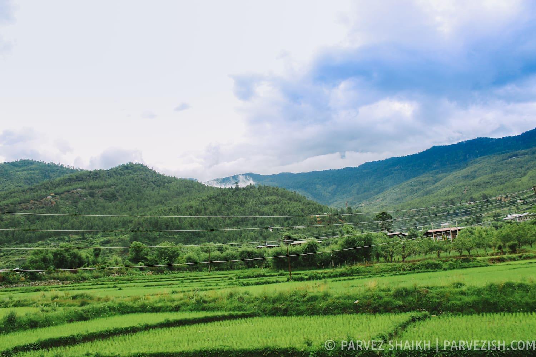 Paro countryside, Bhutan